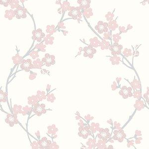 Graham & Brown Super Fresco Cherry Blossom Wallpaper - Pink 5011583180282