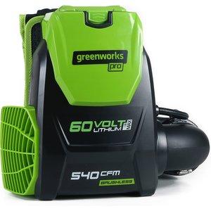 Greenworks 60v Cordless Backpack Blower (tool Only)