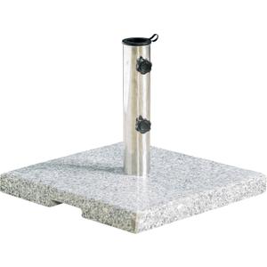 Grey Granite Parasol Base - 20kg  5029463300149