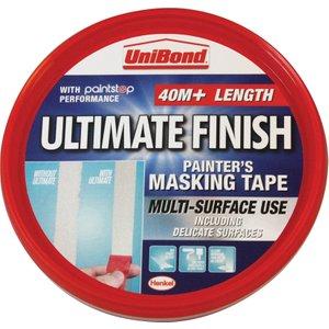 Henkel Unibond Ultimate Finish Masking Tape - 40m  5010305000464
