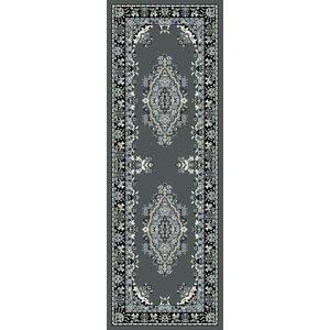 Homemaker Tradition Runner Rug 200 X 67cm - Grey 5053095163551