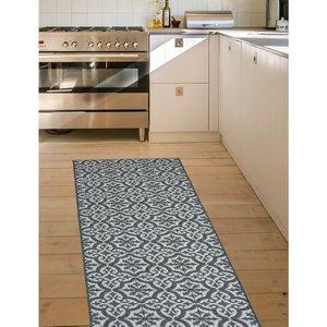 Homemaker Victorian Runner Rug - Grey 5053095168747