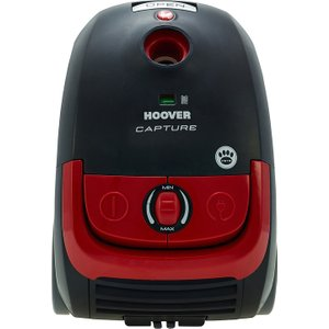 Hoover Capture Bagged Pets Cylinder Vacuum Cleaner - Red & Black Cp70cp11001 8016361886292