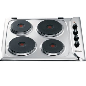 Hotpoint First Edition E604x Electric Hob - Stainless Steel F087846 5016108878460