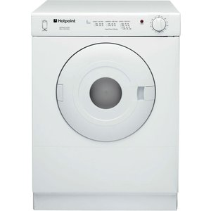 Hotpoint First Edition V4d01p Compact Tumble Dryer - White 5016108860458