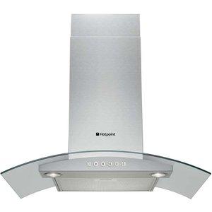 Hotpoint Hda65sab 60cm Cooker Hood - Stainless Steel 5016108821824