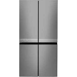 Hotpoint Hq9e1l Side-by-side American Fridge Freezer - Silver 5054645541720
