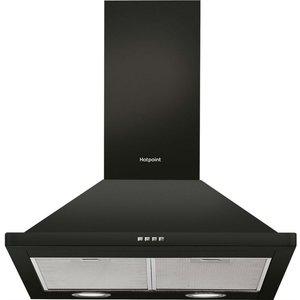 Hotpoint Phpn64famk 60cm Cooker Hood -black 5016108949917