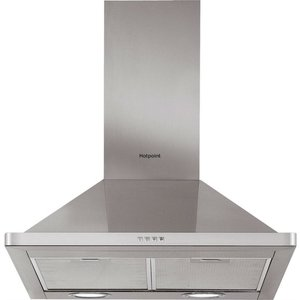 Hotpoint Phpn64famx 60cm Cooker Hood - Stainless Steel 5016108949894