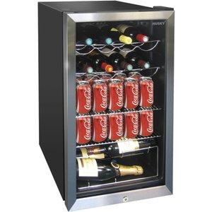 Husky Hus-hm39 20 Bottle Undercounter Wine Cooler - Black