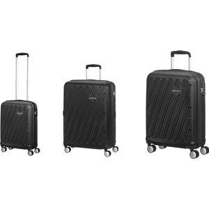 Hypercube 3pc American Tourister Nest Suitcase Black - Slate