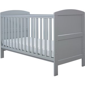 Ickle Bubba Coleby Classic Cot Bed And Sprung Mattress Grey 44 001 C2s 802