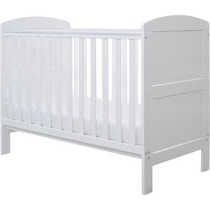 Ickle Bubba Coleby Mini Cot Bed And Sprung Mattress White 43 001 C2s 801