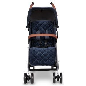 Ickle Bubba Discovery Prime Stroller - Denim Blue On Silver 15 002 300 051