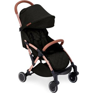 Ickle Bubba Globe Stroller - Black On Rose Gold 15 001 100 043