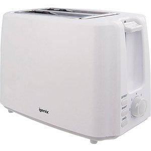 Igenix 2-slice Toaster - White 5016398066417