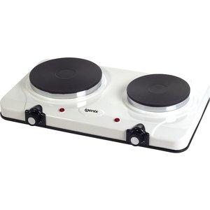 Igenix White Double Hot Plate