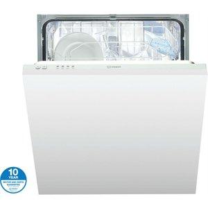 Indesit Ecotime Dif04b1 Built-in Dishwasher - White 8007842840506