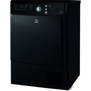 Indesit Ecotime Idcl85bhk Condenser Tumble Dryer - Black 8007842890044