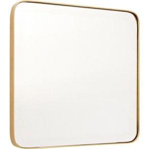 Interiors By Premier Medium Square Wall Mirror - Gold Finish 1101841