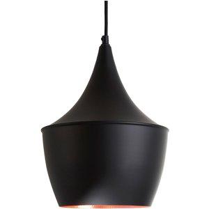 Interiors By Premier Pendant Light - Black/gold Aluminium 2502213