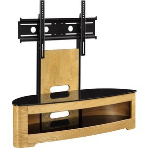 Jual Florence Oak Cantilever Tv Stand