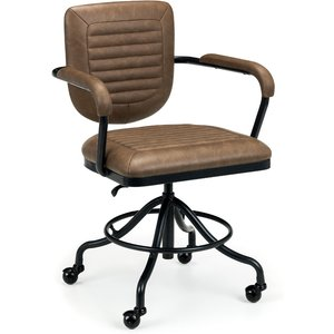 Julian Bowen Gehry Faux Leather Office Chair Geh001