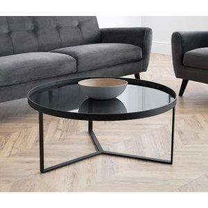 Julian Bowen Loft Coffee Table Smoked Glass Lof101
