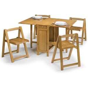 Julian Bowen Savoy Dining Set - Light Oak  5060354912423