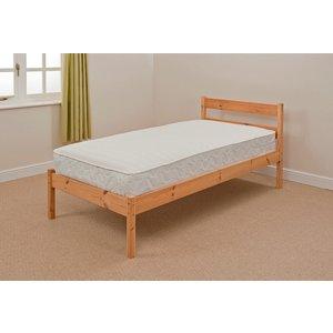 Kandava Double Bed Frame - Caramel