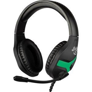 Konix Mythics Nemesis Gaming Headset - Black/green 61881110850