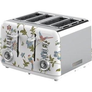 Laura Ashley Vqsbt583wsuk Elveden 4 Slice Toaster - White