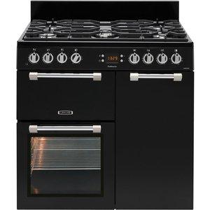 Leisure Ck90f232k 90cm Cookmaster Dual Fuel Range Cooker - Black 5023790032742