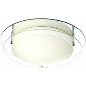 Litecraft Eco Ip44 Flush Ceiling Light  5020024160905