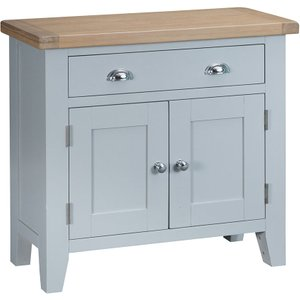 Madera Ready Assembled Small Wooden Sideboard - Grey Tt Sms G 5060516932757