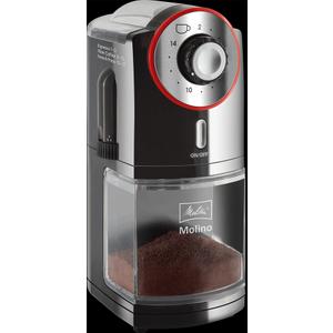 Melitta Molino Electrical Coffee Grinder - Black/red  4006508212958