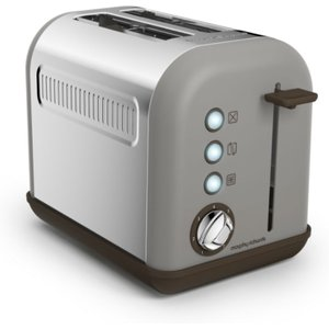 Morphy Richards Accents 2-slice Toaster - Pebble  5011832052995