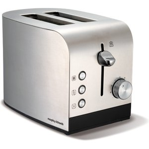 Morphy Richards Accents 2-slice Toaster - Stainless Steel 5011832037732