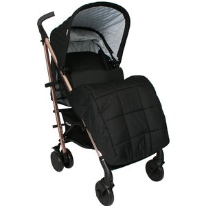 My Babiie Billie Faiers Mb51 Rose Gold Black Quilted Stroller Mb51qg