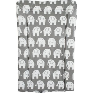 My Babiie Changing Mat - Grey Elephants Mbcmge