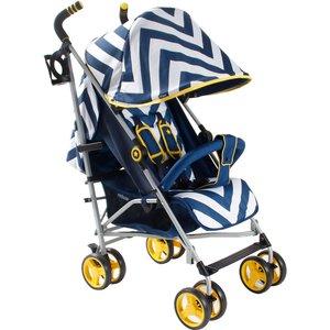 My Babiie Mb02 Stroller -  Blue Chevron Mb02bc