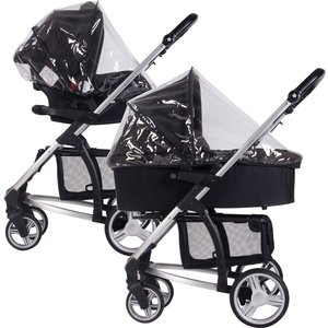 My Babiie Raincover For Bassinet & Car Seat Mbzzrc1