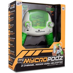 Mycropods 3-channel Remote Control Nano Helicopter