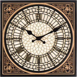 Outside In Little Ben Wall Clock
