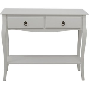 Pelia Grey Console Table  5016319691490