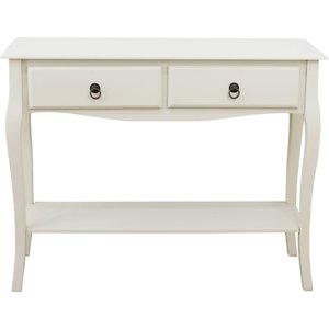 Pelia Ivory Console Table  5016319681491