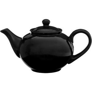 Premier Housewares 1.3l Teapot - Black  5018705337876