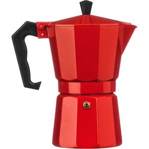 Premier Housewares 6-cup Espresso Maker - Red  5018705773629