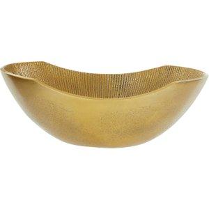 Premier Housewares Estrella Small Bowl - Gold Finish 5505426 5018705438054