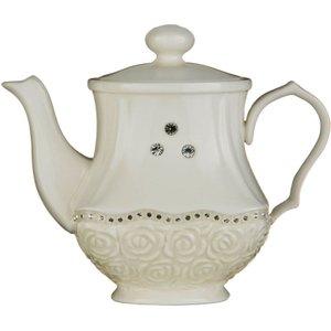 Premier Housewares Georgia Diamante Teapot  5018705677590